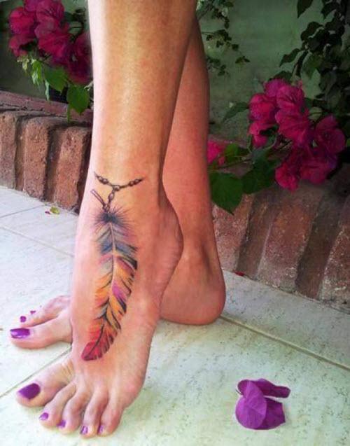 Что означает тату на ноге фото