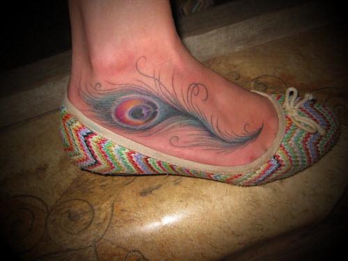 Что означает тату на ноге фото - 5