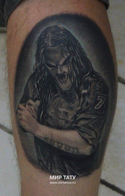 Фото тату на ноге для парней - 3