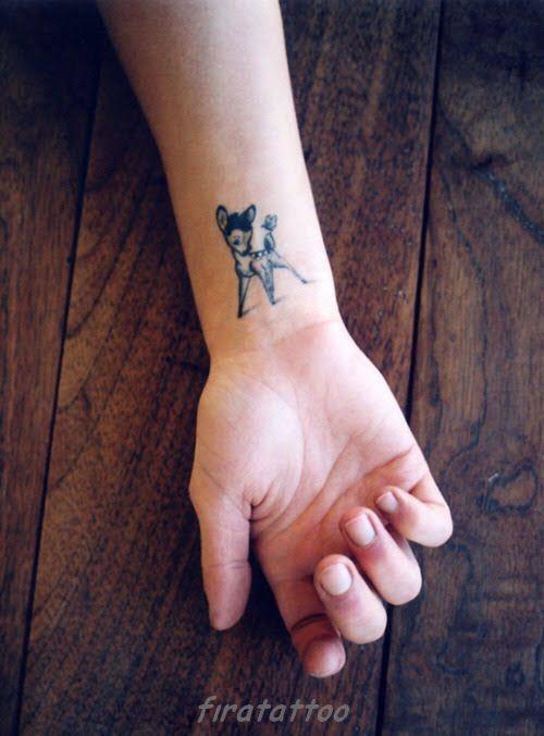 Фото тату на руке у девушке - 0