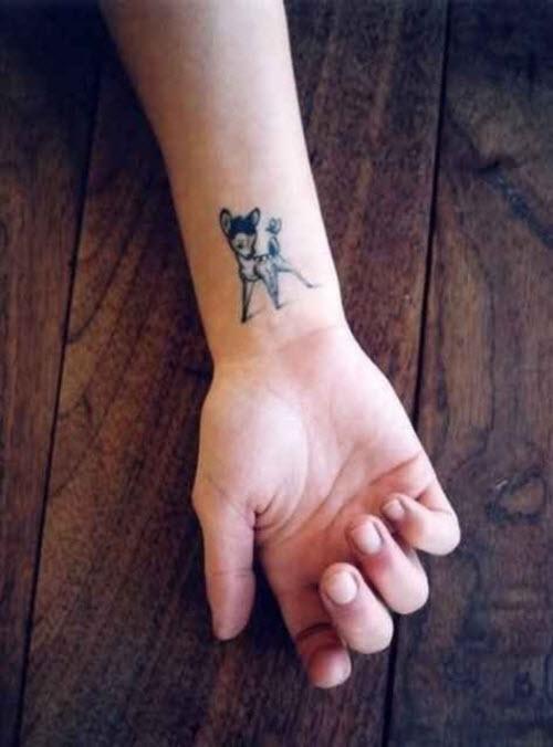 Фото тату на руке у девушке - 5