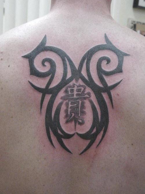 Фото тату на спину кельтские узоры - 2