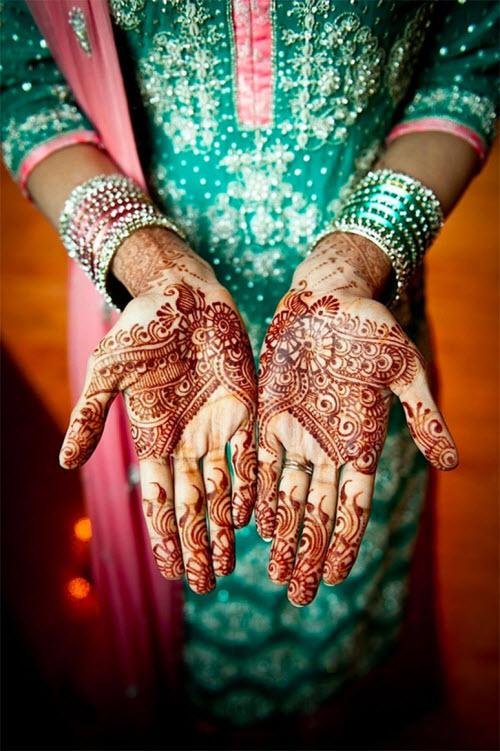 Индийское тату хной на руке фото - 1