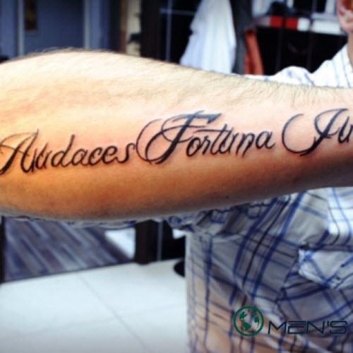 Какую надпись можно сделать тату фото - 4