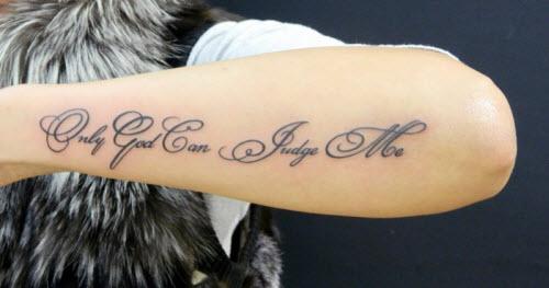 Какую надпись можно сделать тату фото - 8