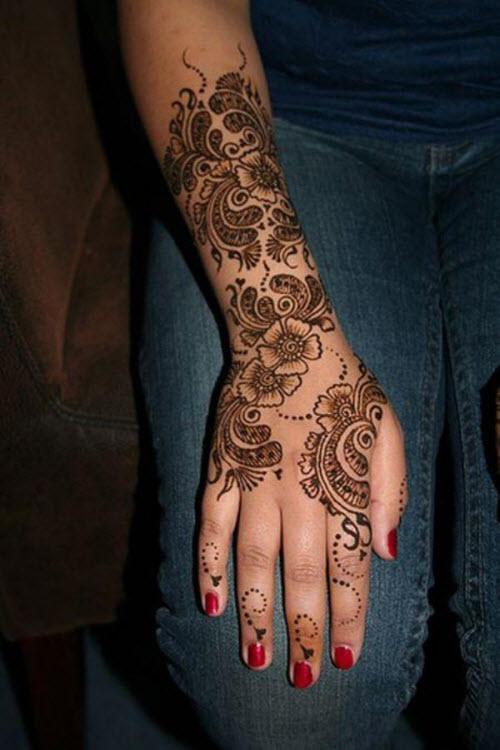 Красивые женские тату на руке фото - 4
