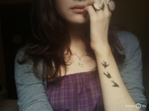 Красивые женские тату на руке фото - 7