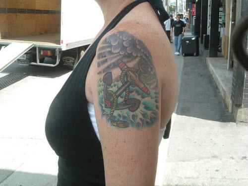 Красивые женские тату на руке фото - 9
