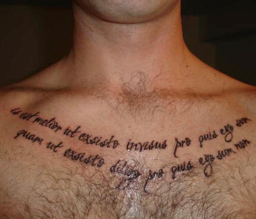 Красивый шрифт для тату на латыни фото - 3