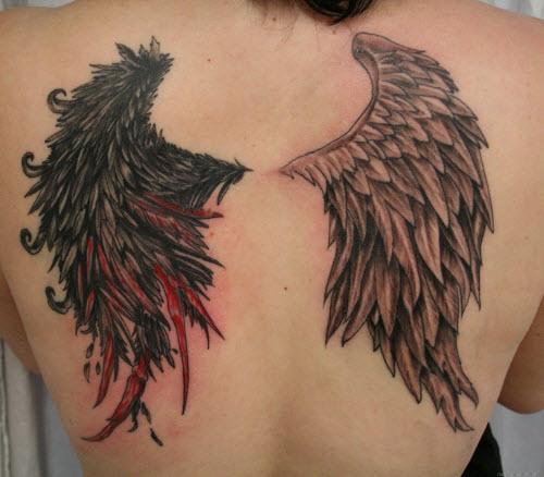 Крылья ангела тату фото на руке - 3