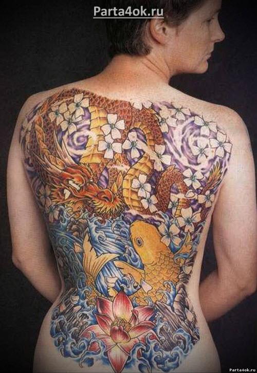 Лучшие женские тату на пояснице фото - 4