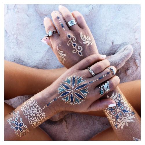 Модное тату для девушек фото 2016 - 1