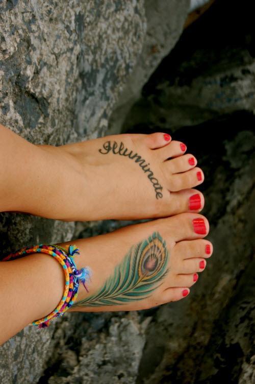 Модное тату для девушек фото 2016 - 5