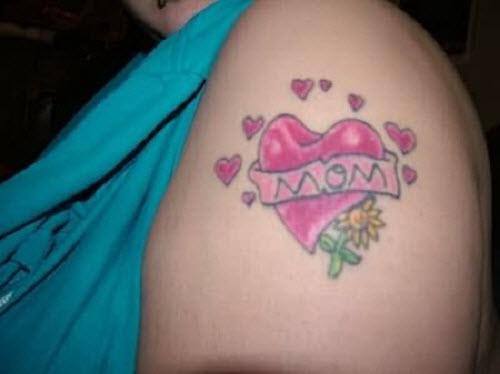 Надписи для тату про маму фото - 8