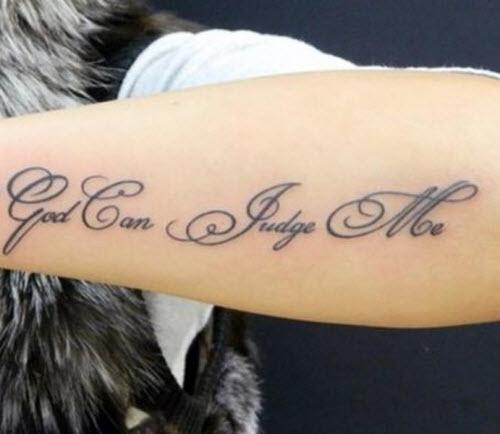 Одна жизнь одна любовь тату на латыни фото на руку - 9