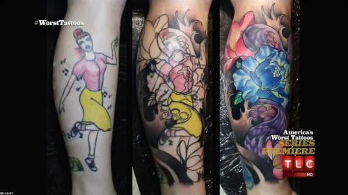 Переделанные тату на запястье фото
