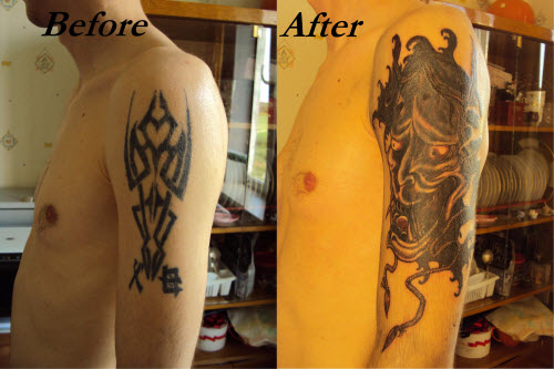 Переделанные тату на запястье фото - 1