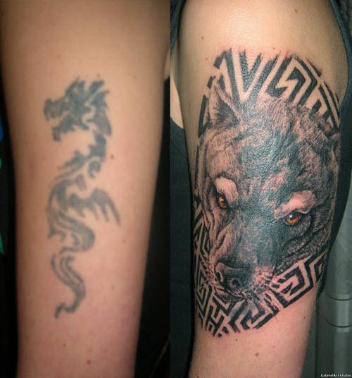 Переделанные тату на запястье фото - 6