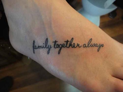 Great And Meaningful Family Tattoo Designs