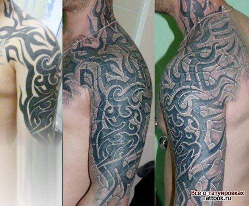Тайские узоры тату фото