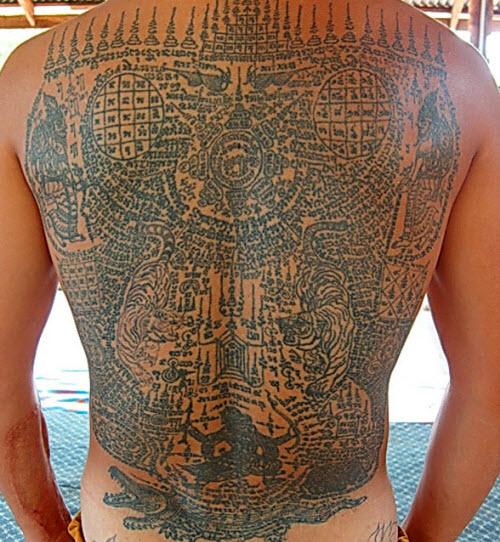 Тайские узоры тату фото - 2