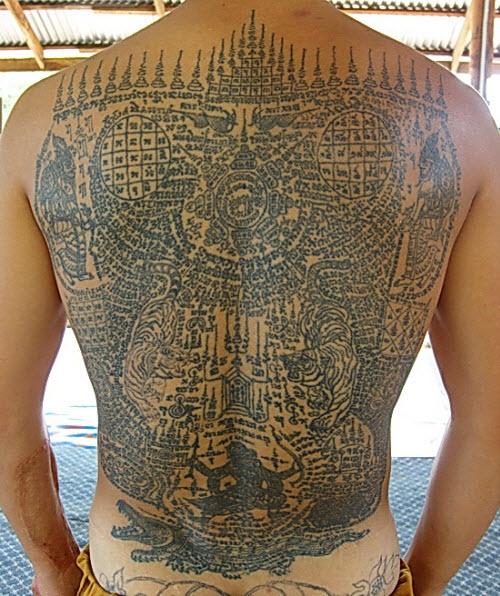 Тайские узоры тату фото - 5