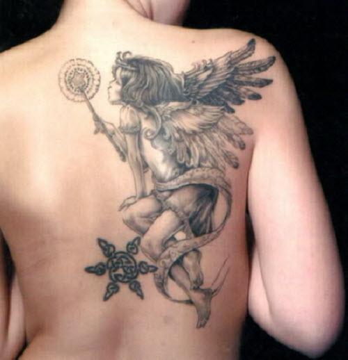Тату ангел фото женское - 1