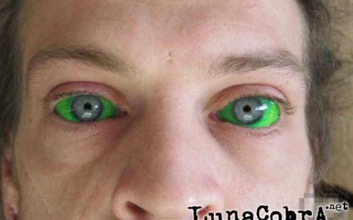 Тату белков глаз фото - 2