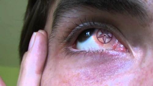 Тату белков глаз фото - 4