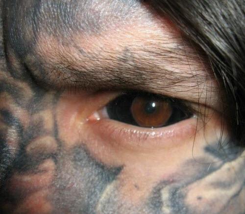 Тату белков глаз фото - 8