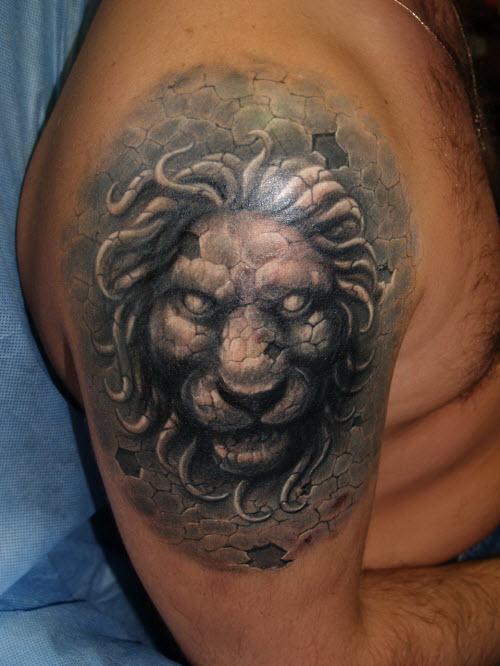 Тату если лев по гороскопу фото - 6