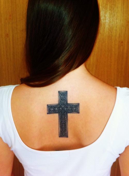 Тату женские на руке кресты фото