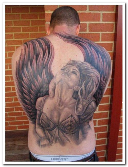 Тату крылья валькирии фото - 0