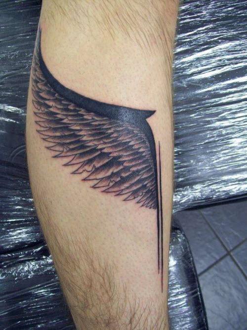 Тату крылья валькирии фото - 4