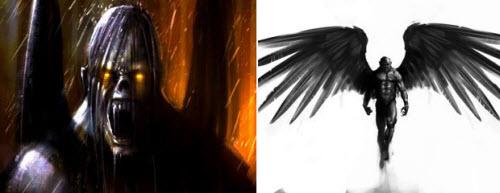 Тату крылья валькирии фото - 6