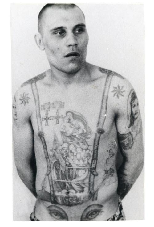 Тату на ключице тюремные фото - 9