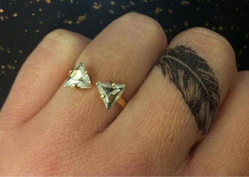 Тату на пальце кольцо фото - 2