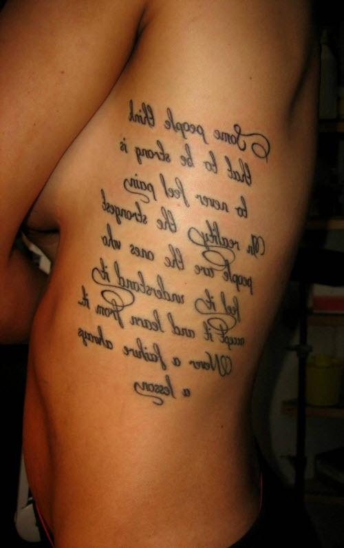 Тату надписи с переводом для парней фото - 6