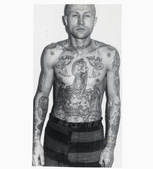 Звезды на ключицах тату тюремные значение фото - 1